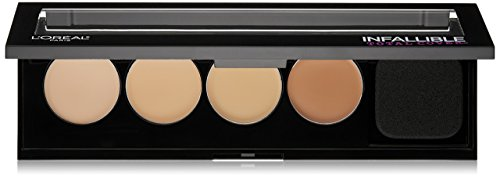 L'Oreal Paris Cosmetics Infallible Total Cover Concealing and Contour Kit