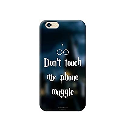 Thebigstock Handyschutz Hülle Cover Tpu Für Alle Modelle Apple Iphone X 8 7 6 6s Plus 5 5s 4 4s 5c Se U27 Harry Potter Don T Touch My Phone
