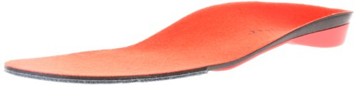 Superfeet Men's Red Hot Premium Insoles,Red Hot,F: 11.5 - 13 US Mens