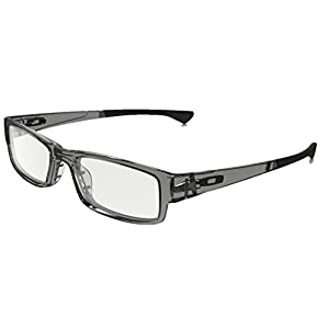 Oakley Airdrop Eyeglasses 100% Authentic (Grey Shadow w/Black, 51)