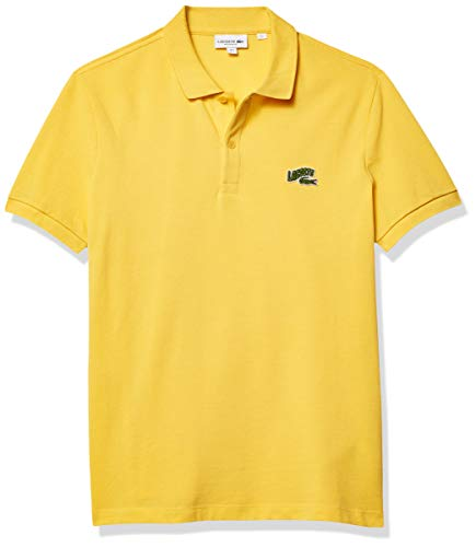 Lacoste Men's Short Sleeve Croc Animation Regular Fit Polo Shirt