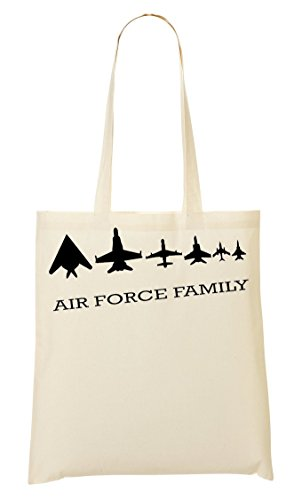 Air Force Family Bolso De Mano Bolsa De La Compra