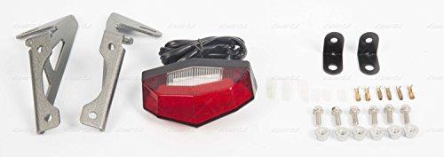 Edge 2 Tail Light (Dr Dry Motoled Edge-2 Aluminium Tail Light Holder w/ LED Light Red WR250R/X)
