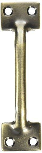 Baldwin 0470.050 4-Inch x 1.125-Inch Sash Lift, Satin Brass and Black by Baldwin -