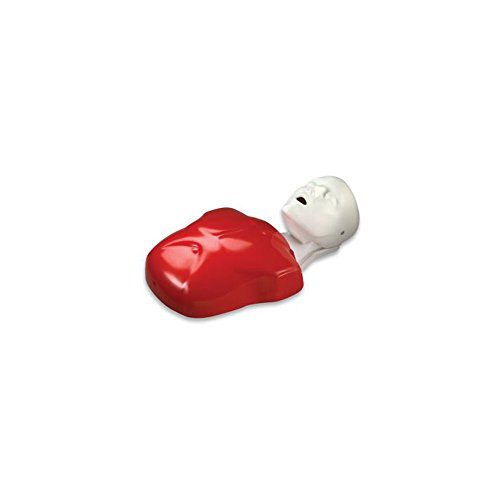 Life/form Basic Buddy Single Manikin; Adult/Child Manikin, 10 Lung Bags, and Instruction - LF03693U
