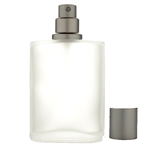 50ml Empty Glass Perfume Spray Bottle Atomizer Refillable Smokey Glass The Flair Care Co.