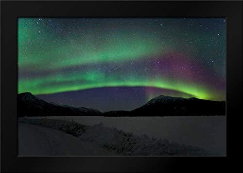 Aurora Borealis III Framed Art Print by Malvin, Larry
