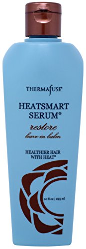 Thermafuse HeatSmart Serum Restore Leave In Balm (10 ounce) Repairs, Conditions, Smoothes, Adds Moisture with Coconut Oil, Red Algae and Coffee Fruit Botanicals. Best for Dry, Coarse, Processed Hair