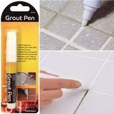 Carrelage Stylo Blanc Pour Carrelage Line Peinture Magic Pen Joints Outil De Reparation Adhesif Blanchissant Rafraichir