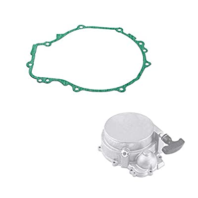 Recoil Pull Start Gasket fit Polaris - Pull Start Assembly Reel Rebuild Kit for 1996 97 98 99 00 01 02 03 04 05 06 07 08 09 10 2011 Polaris Sportsman 500, Replaces # 3084933, by Vautoparts: Automotive