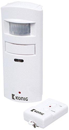 König SEC-APR10 Sensor de Movimiento, Blanco