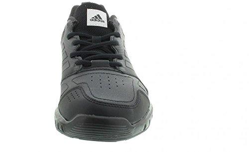 adidas Essential Star 3 M - Zapatillas de deporte para Hombre, Negro - (NEGBAS/NEGUTI/FTWBLA) 48 2/3