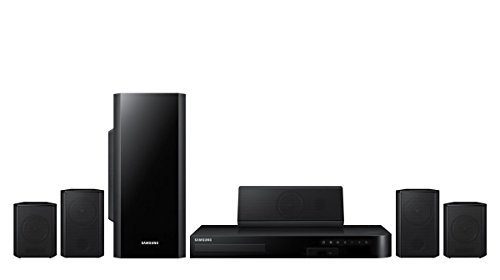 Samsung HT-HM55 - 5.1 Channel 3D Blu-Ray Home Theater System (Renewed)