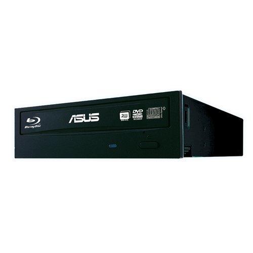 Asus BW-16D1HT Retail Silent interner Blu-Ray Brenner (16x BD-R (SL), 12x BD-R (DL), 16x DVD±R, Retail, BDXL, Sata) schwarz