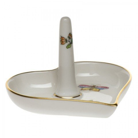 Herend Porcelain Ring Holder Queen Victoria Design by Herend
