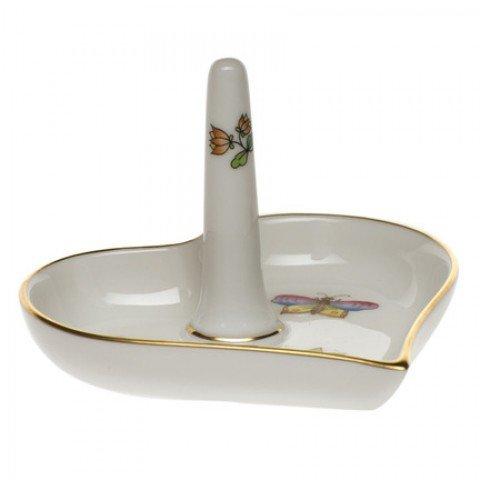 Herend Porcelain Ring Holder Queen Victoria Design
