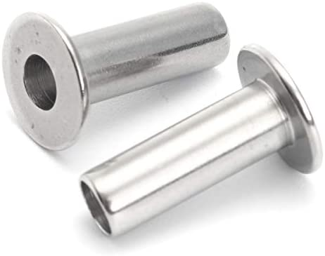 Queenwind 20Pcs のステンレス鋼の保護プロテクターの袖3/16 のための海洋の等級」ケーブルの柵の柵
