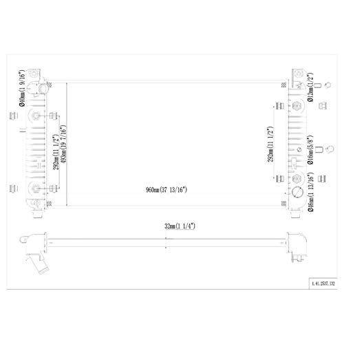SarahQ fit Chevy 01-02 Silverado 2500HD 8.1L /& 01-02 Silverado 3500 8.1L /& 01-02 Suburban 2500 8.1L /& GMC 01-02 Sierra 2500HD 8.1L /& 01-02 Sierra 3500 8.1L Automatic Transmission 1 Row 37A