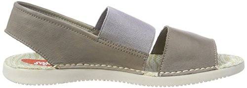 Tai383sof Bride 011 Sandales Femme Arriere Taupe Washed Softinos Gris B4dqxa4