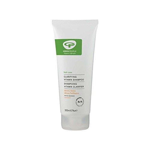 Green People Vitamin Shampoo (200ml) (Pack of 6) - 緑の人々のビタミンシャンプー(200ミリリットル) x6 [並行輸入品] B0727R6G2W