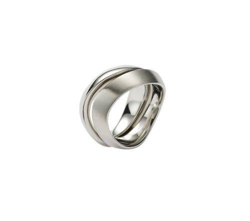 FOSSIL  JF85377040 Damen Ring Edelstahl 17