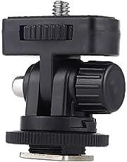 """Koude schoen Mount Adapter, Koude schoen Mount Adapter 1/4 """"Schroefdraad Camera Statief 180 graden Verstelbare Beugel"""