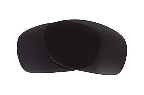 Black Polarized Replacement Lenses for Oakley Sideways ()