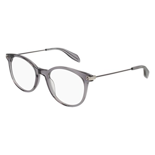 Eyeglasses Alexander McQueen AM 0093 O- 002 GRAY / - Alexander Optical Gray