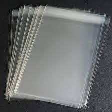 A4Cello/Cellophan–Beutel–50Stück, 220mmx305mm mit selbst Seal Lip, antistatisch, Hohe Klarheit Film. Ideal für Grußkarten, Fotos, Kalender, Geldbeutel, und Dokument Schutz