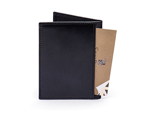 SAGEBROWN SAGEBROWN Slim Protection Slim Card Black Credit Wallet RFID f6qcFU