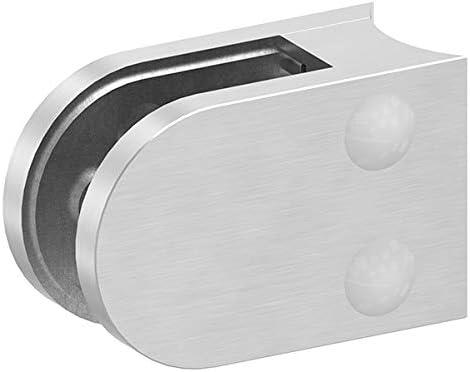 Anschluss f/ür /ø 42,4mm Rohr Glasklemme Modell 33 mit AbZ V2A f/ür 12,76mm Glas