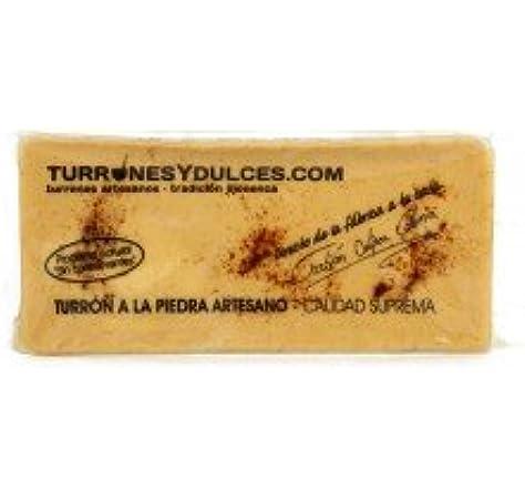 Turrón a la Piedra artesano. Tableta o barra de 300 gramos. Es el ...