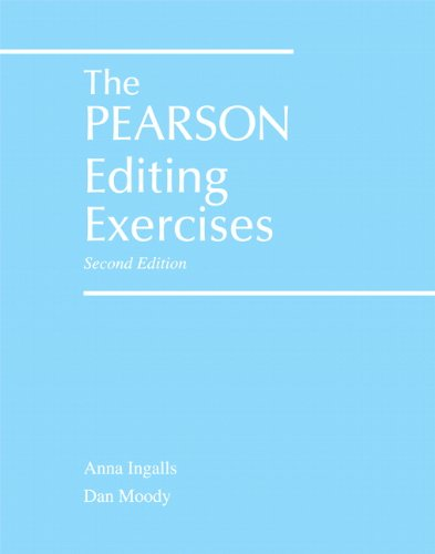 The Pearson Editing Exercises (2nd Edition)