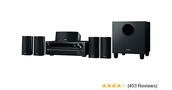 Onkyo HT-S3700 5 1-Channel Home Theater Receiver/Speaker Package