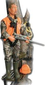 Action Hunter Dan Rifle Hunter Figure (8 pouces)