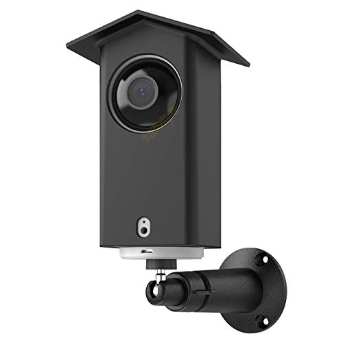 Wall Mount Bracket foreaya Weather Proof Roof Protective Cover & Stability 360 Degree Adjustable Indoor/Outdoor Wall Mount Compatible with Wyze Cam Pan (Black)
