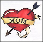 Mom Temporary Tattoo (3-pack)