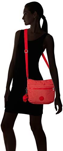 Rojo X C Para Red spicy Mujer 15x24x45 Bandolera Bolso L Arto Cm w Kipling H Pwq848