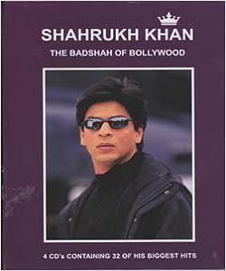 SHAHRUKH KHAN the Badshah of Bollywood (4 Cd Set): Amazon