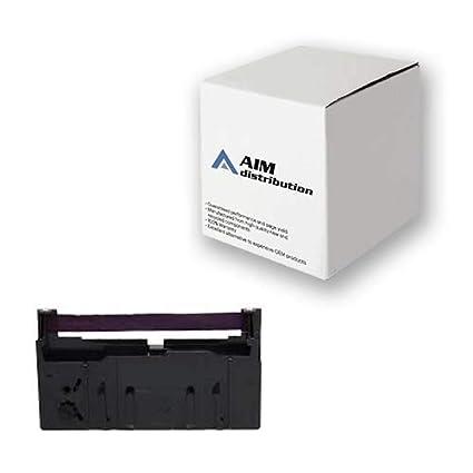 12 Epson ERC-18 Compatible Purple Ribbons with Samsung ER-4800 ER-5100 ER-6500