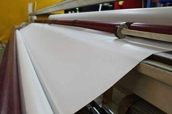 B/âche de protection en PVC de qualit/é sup/érieure R/ésistant aux intemp/éries et aux d/échirures 510 g//m/² blanc