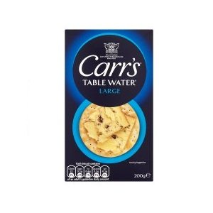 Carrs Table Water Biscuits 200g - Pack of 6