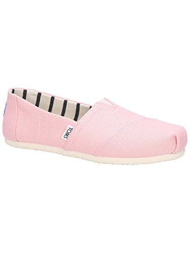TOMS Womens Venice Casual Lifestyle Shoe, Powder Pink, 7 B(M) US