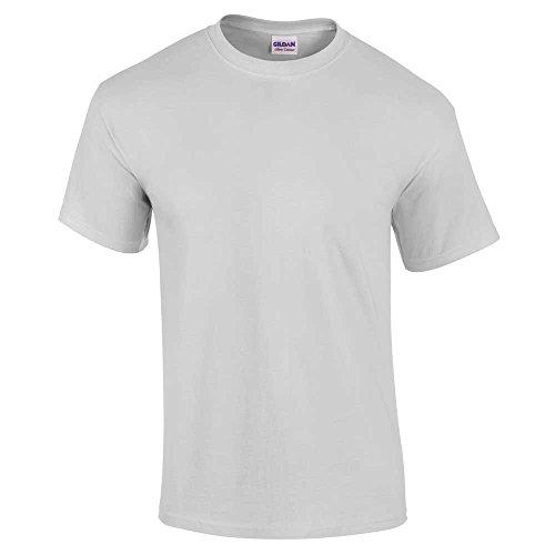 Gildan mens Gildan Short Sleeve Ultra Cotton Crew Neck Adult T-Shirt Ice Green S - 34/36