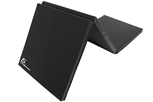 ProSource Tri-Fold Folding Exercise, Black ()