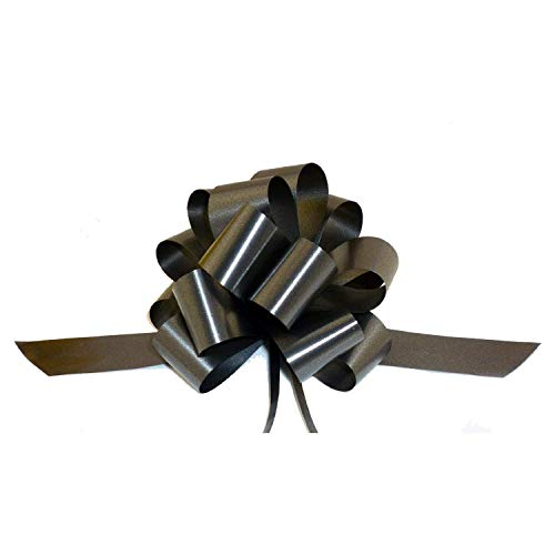 Black Decorative Gift Pull Bows - 5