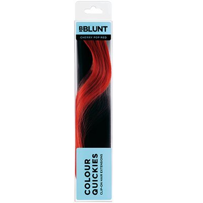 Buy Bblunt Colour Quickies Clip On Hair Accents Cherry Pop Red
