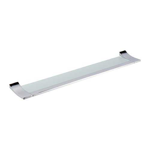 Ginger 4734T-24/PC Cinu 24'' Bathroom Shelf 4734T-24, Polished Chrome by Ginger