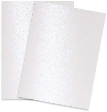 Pearlised PAPER Pearlescent Choose Colour Qty and Size Pearl 125gsm
