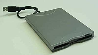 "1.44MB 3.5"" USB Internal Slim Floppy Disk Drive (Black) from Y-E Data"